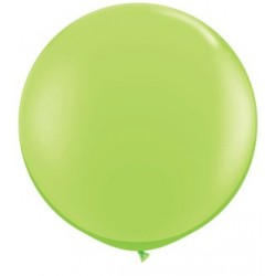 vert lime green 90 cm qualatex à l'unite76395 3lg1 QUALATEX 90 Cm Opaques 90 Cm Ø Qualatex