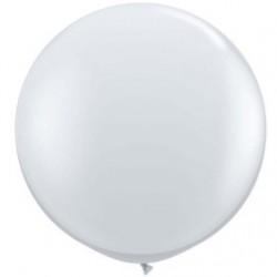 transparent 90 cm qualatex à l'unite43984 QUALATEX 90 Cm transparent Cristal 90 Cm Ø Ballons Qualatex