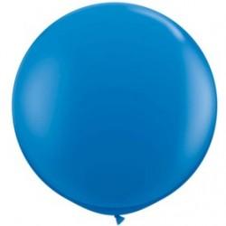 bleu foncé 90 cm qualatex à l'unite