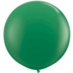 vert opaque 90 cm qualatex à l'unite