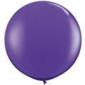 purple violet 90 cm opaque qualatex à l'unite