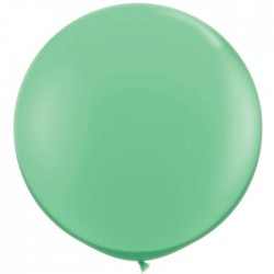 vert hiver opaque rond 90 cm qualatex à l'unite