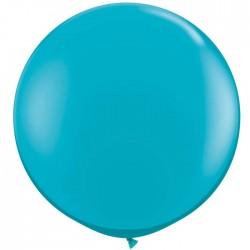 turquoise bleu 90 cm qualatexà l'unite44012 3tt1 QUALATEX 90 Cm Opaques 90 Cm Ø Qualatex