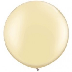 perlé ivoire 75 qualatex à l'unite38508 QUALATEX PERLÉ NACRÉ 75 CM Ø BALLONS QUALATEX 75 CM DE DIAMÈTRE