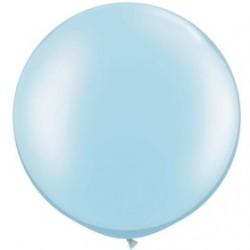 perlé bleu ciel 75 cm qualatex à l'unite44021 QUALATEX PERLÉ NACRÉ 75 CM Ø BALLONS QUALATEX 75 CM DE DIAMÈTRE