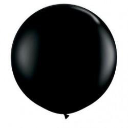 noir 90 cm qualatex à l'unite