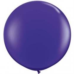 violet cristal 90 cm qualatex à l'unite1621_1466331216 QUALATEX 80 CM A 100 CM DE DIAMETRE