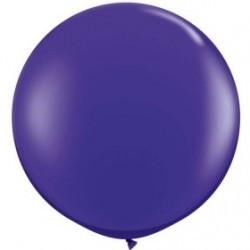 violet cristal 90 cm qualatex à l'unite