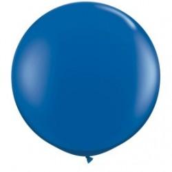 saphire bleu cristal 90 cm qualatex à l'unite
