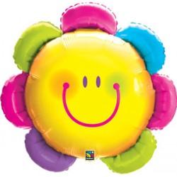 fleur smile 80 cm de diamètre18050fleursmile QUALATEX Smile