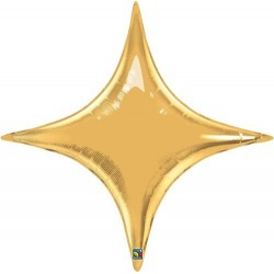 star point ballon mylar or 100 cm