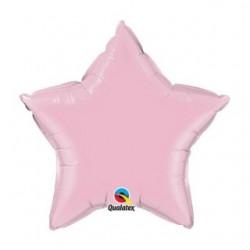 Etoile perlé rose 90 cm Etoiles 90 cm