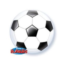 bubble ballon foot 56 cm de diamètre QUALATEX Foot Le Theme