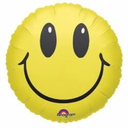 smile ballon mylar 45 cm non gonflé