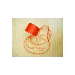 ruban double satin 6 mm orange par 10 m Oaktree Ruban Satin 6Mm
