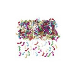confettis metal music notes 2
