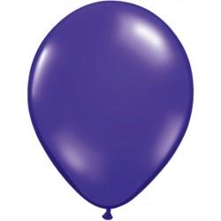 violet cristal transparent 12.5 cm poche de 100