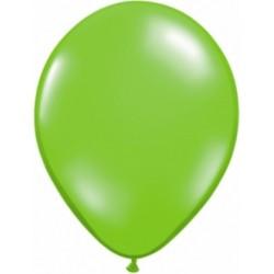 vert limette cristal qualatex 40 cm poche de 2