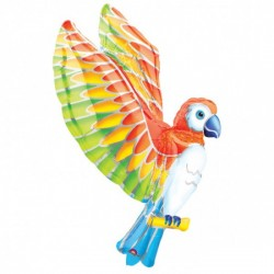 Perroquet ballon mylar 55*109cm