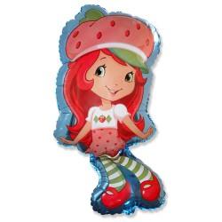 Charlotte fraise forme hauteur 70 cm Charlotte Aux Fraises