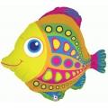 citrus fish 68.6 cm ballons mylar poisson85220P BETALLIC La Mer