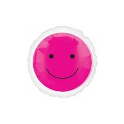 smile magenta 45 cm ballon mylar