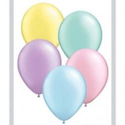 perlé pastel assortiment 12.5 cm poche de 10043566 qualatex perle pastel 12cm QUALATEX 12 Cm Perle Clair 12 Cm Ø Qualatex