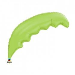 feuille palmier verte 90 cm à plat