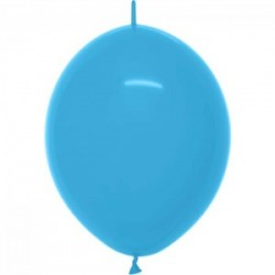 Link o loon 30 cm couleur opaque turquoise bleu 038
