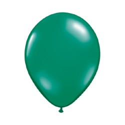 vert emeraude transparent 28 cm par 10043744 q28 p100 QUALATEX 28 Cm Transparent Qualatex 28 Cm Ø Ballons