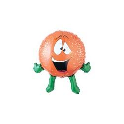 orange ballons mylar