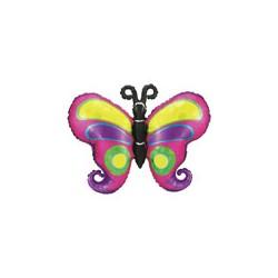 Papillons 96.5 cm ballon mylar Papillons
