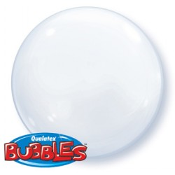 bubble couleur blanc QUALATEX Les Bubbles Couleurs