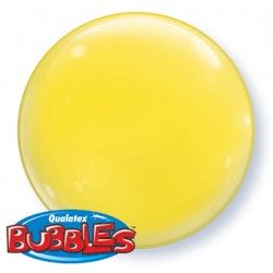bubble couleur jaune QUALATEX Les Bubbles Couleurs