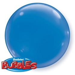 bubble couleur bleu foncé QUALATEX Les Bubbles Couleurs
