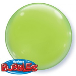 bubble couleur vert lime green QUALATEX Les Bubbles Couleurs