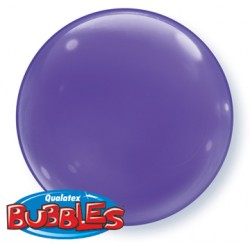 bubble couleur violet