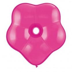 qualatex géo blossom 40 cm de diamètre framboise en poche de 5 QUALATEX Ballons 35 cm diamètre