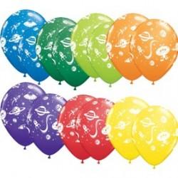 espace soucoupes et martiens2397_1329520655 Enfants Ballons Imprimes