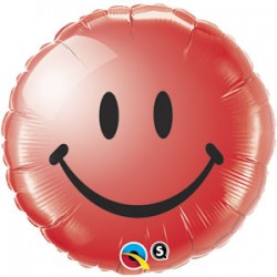 Smile rouge qualatex 45 cm à plat29634 QUALATEX Divers Fetes Et Smiles