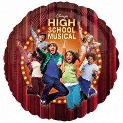 High scool musical BALLON mylar metal 45 cm Tv Cartoon Cine