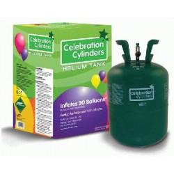 kit hélium 0.25m3 pour 30 ballons 23 cm Ø