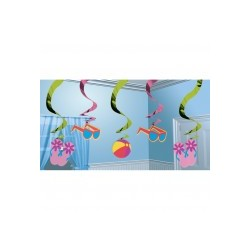 fun sous le soleil suspensions verticales Suspensions Decorations