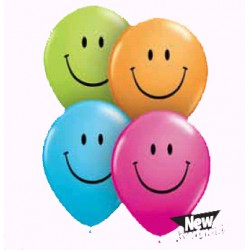 smile color opaque 28 cm de diamètre qualatex2447_164088621 Fêtes Et Smiles Ballons De Baudruche Imprimes