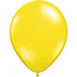 jaune citron transparent 28 cm par 2543740 q28 p25 QUALATEX 28 Cm Transparent Qualatex 28 Cm Ø Ballons