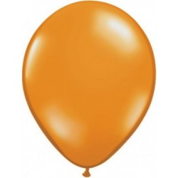 orange transparent 28 cm par 2543760 q28 p25 QUALATEX 28 Cm Transparent Qualatex 28 Cm Ø Ballons