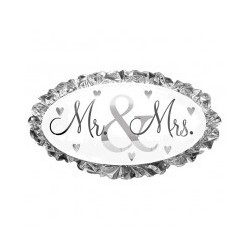 Mr et Mrs ballon mylar