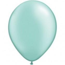 qualatex perlé pastel menthe verte 28 cm poche de 2543781 pmg q28 p25 QUALATEX 28 cm Perle Pastel (Satin, Nacré, Perlé) 28 c...