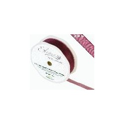 Ruban organza bordeaux 10mm*20m