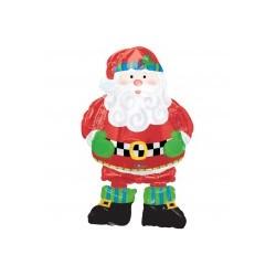 PERE NOEL BALLONS MARCHEUR Noël